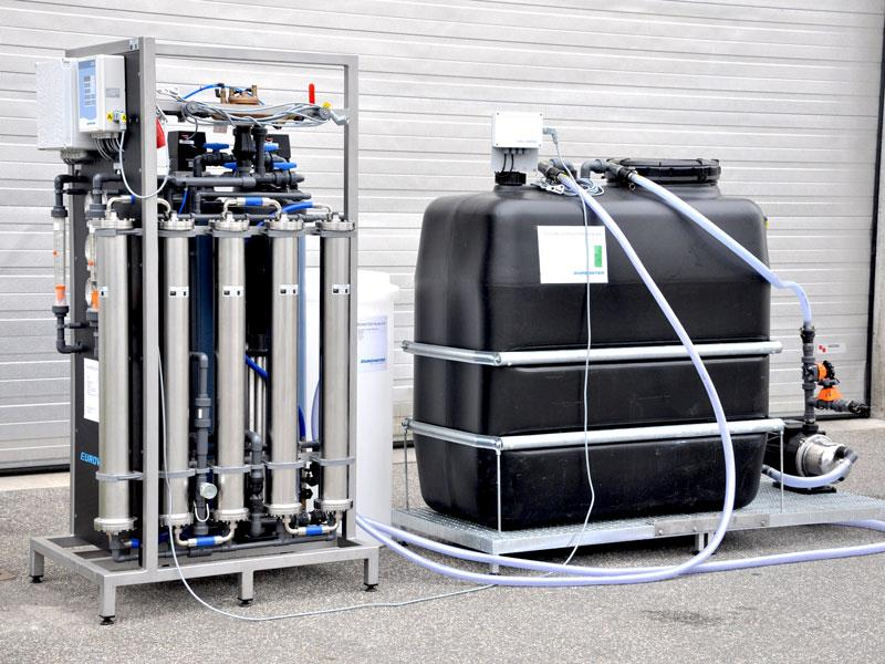 Eurowater compact reverse osmosis unit for rent