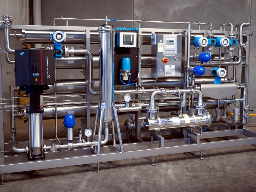 Reverse osmosis in stainless steel